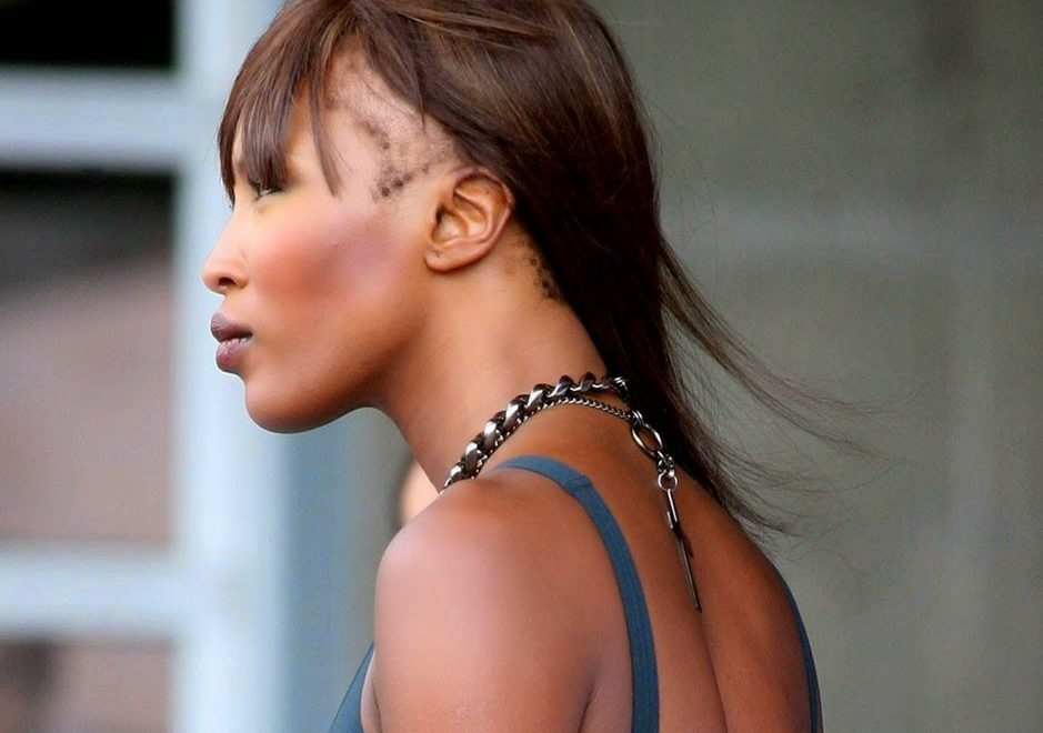 Naomi Campbell Edges