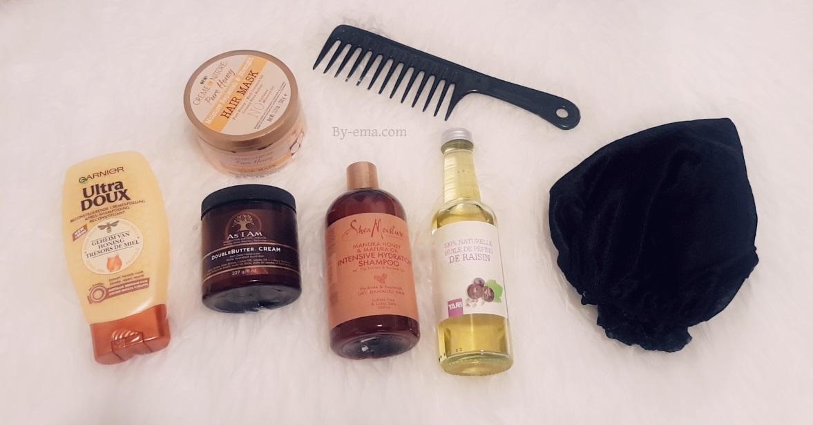 simple hair routine