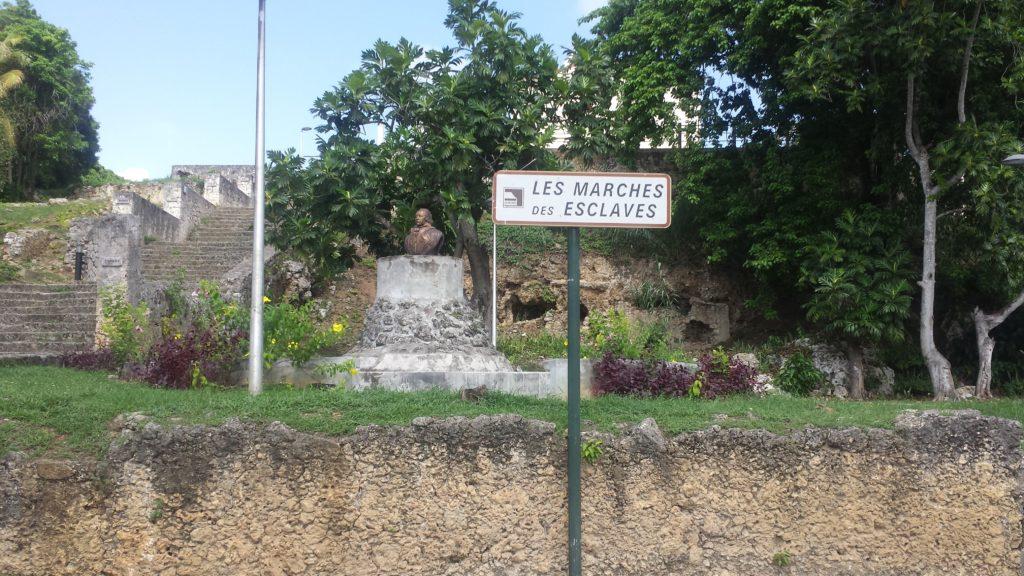 Les Marches Des Esclaves Guadeloupe