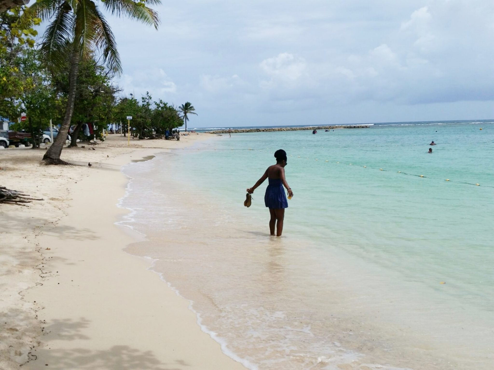 Sainte-Anne beach Guadeloupe