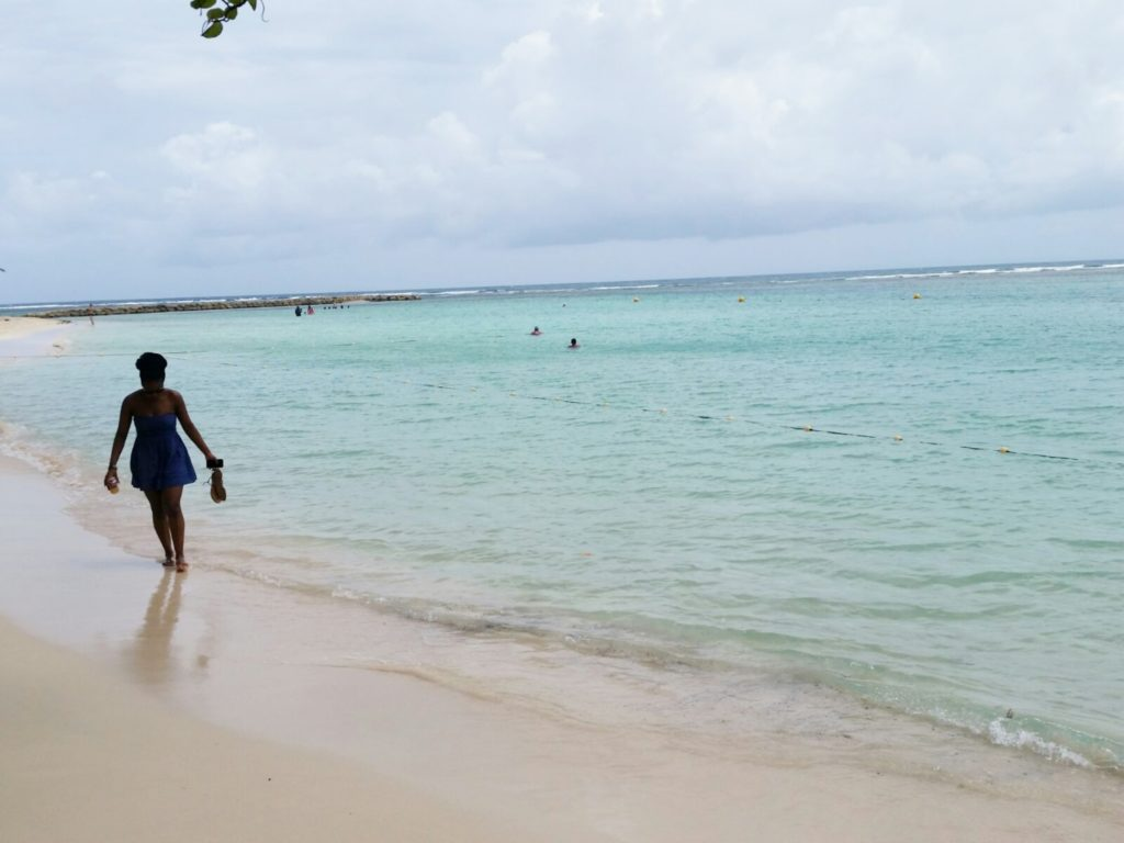 Sainte-Anne beach Guadeloupe
