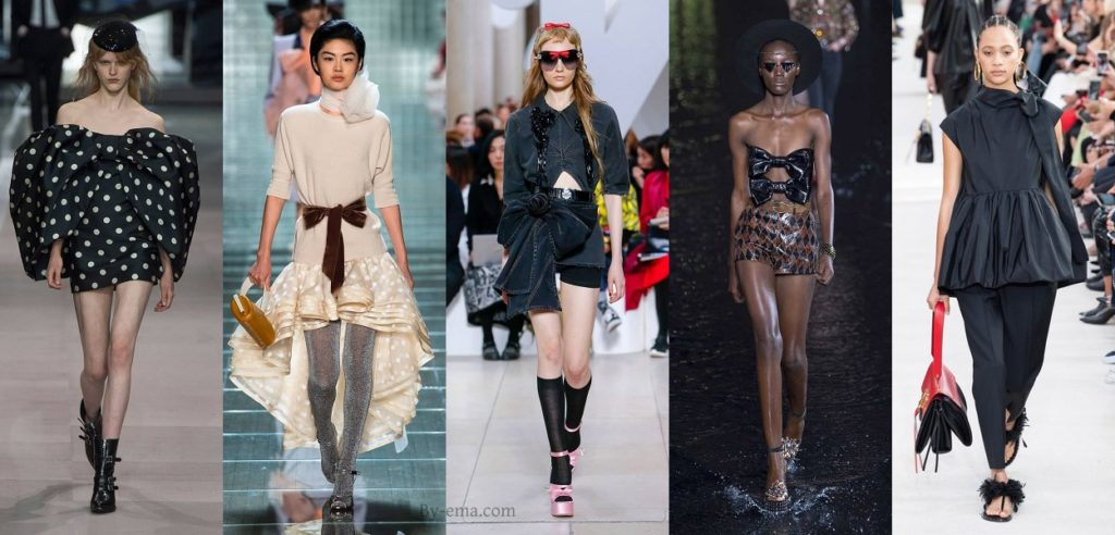 Spring Summer 2019 Fashion trends Bow