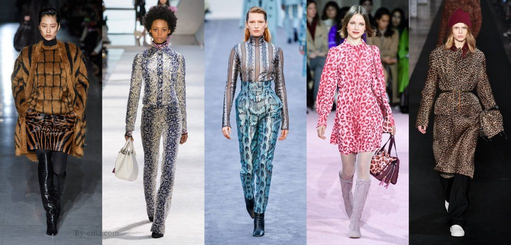 Autumn Winter 2019 animal prints trend