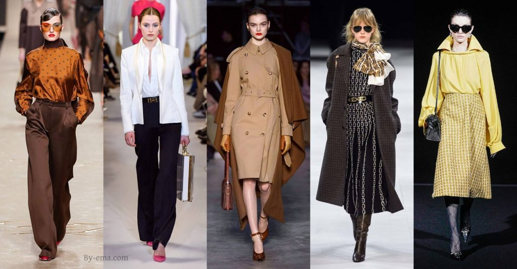 Autumn Winter 2019 fashion trends bourgeois