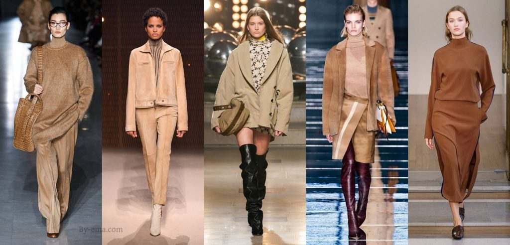beige autumn winter 2019 fashion trends