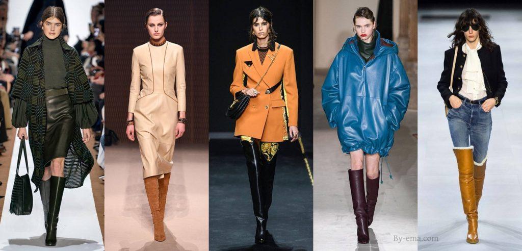 bottes tendances mode automne hiver 2019