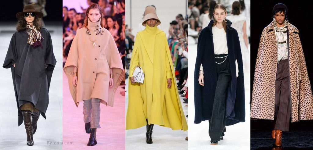 Autumn Winter 2019 Fashion Trends capes