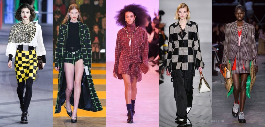 Autumn Winter 2019 Checks trend