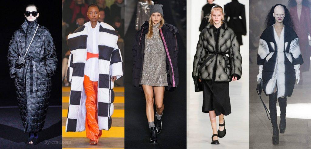 doudoune tendances mode automne hiver 2019