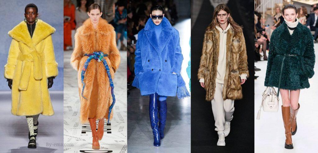 fourrure tendances mode automne hiver 2019