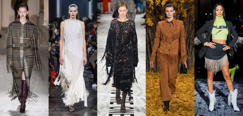 autumn winter 2019 fashion trends fringe