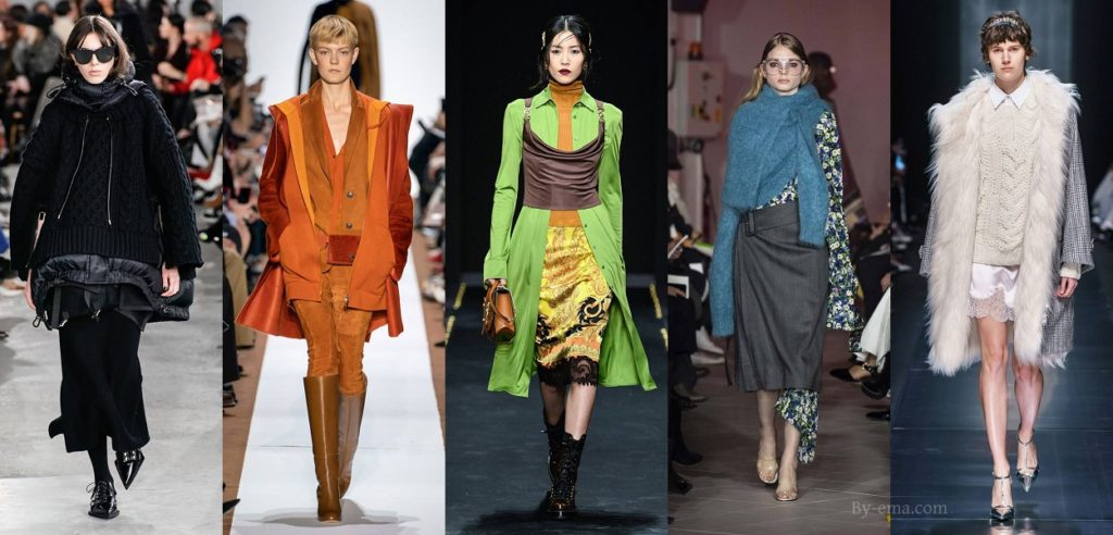 autumn winter 2019 fashion trends layering