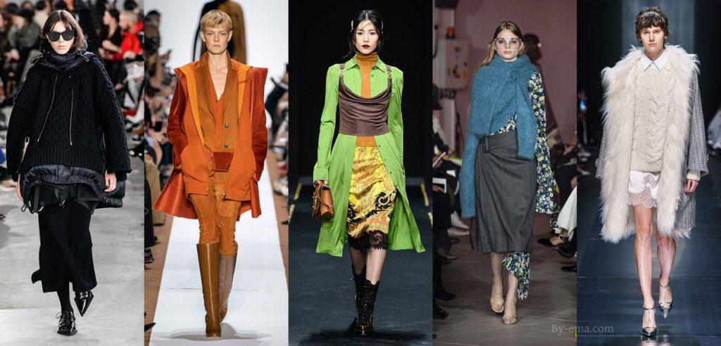 autumn winter 2019 fashion trends layering