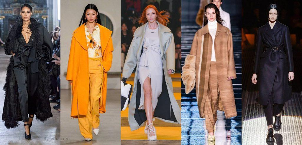 Autumn Winter 2019 Fashion Trends long coats