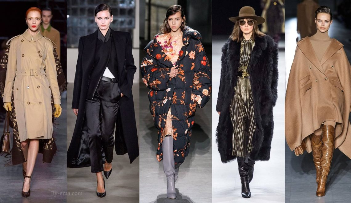 Autumn Winter 2019 trendy coats