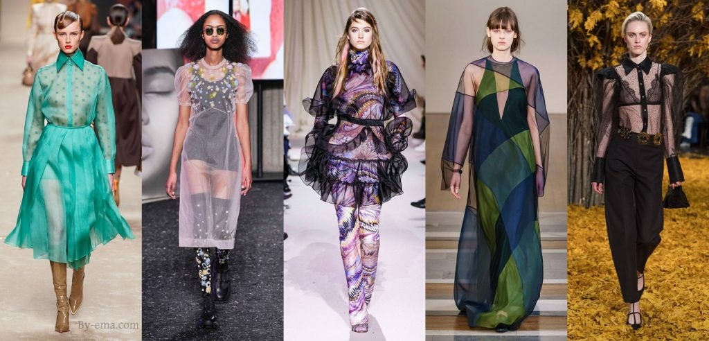 autumn winter fashion trends organza