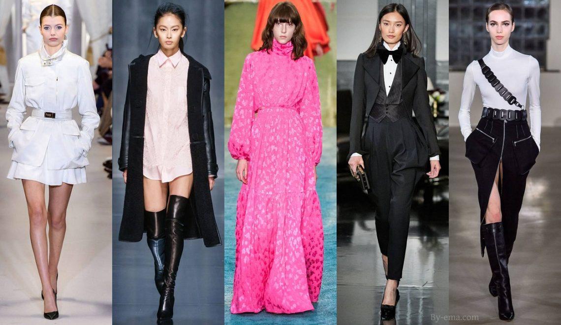 pièces tendances mode automne hiver 2019