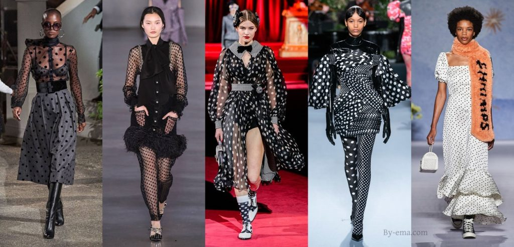 autumn winter 2019 polka dots trend