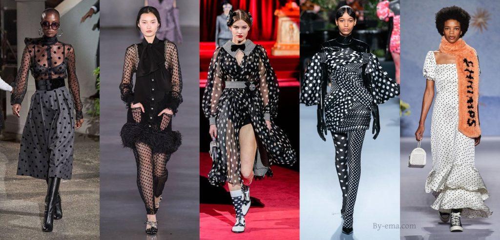 autumn winter 2019 polka dots trend