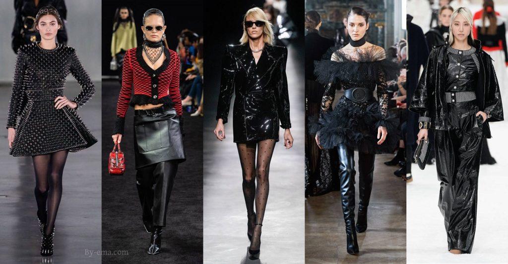 Autumn Winter 2019 fashion trends punk
