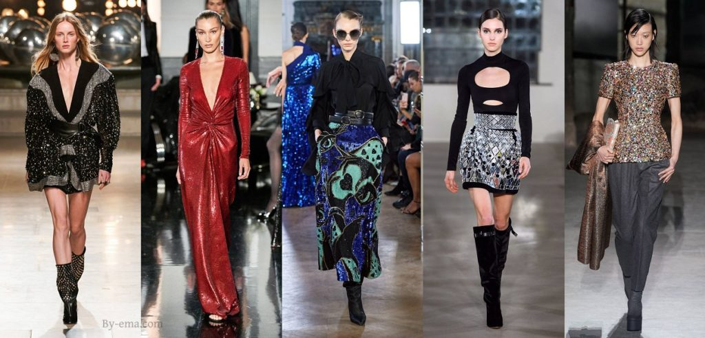 autumn winter fashion trends sequins
