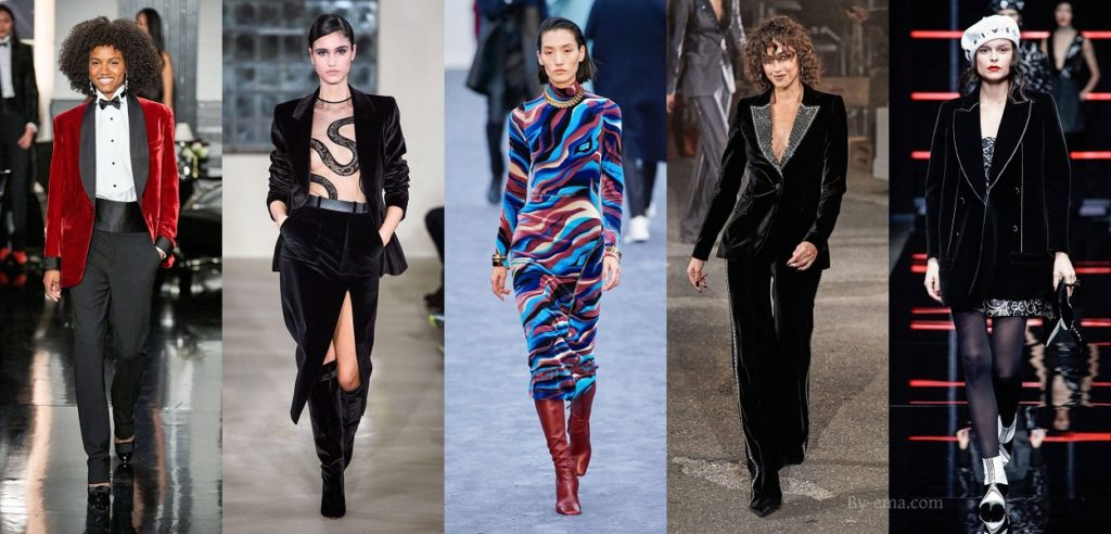 autumn winter fashion trends velvet